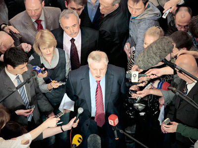 Sergey Mironov (C) (RIA Novosti / STF)