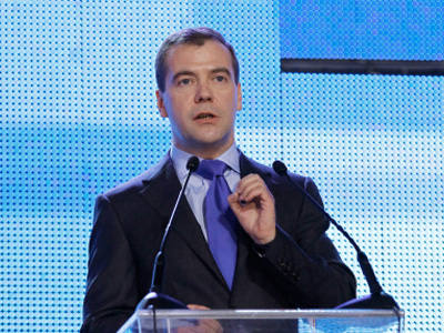 Strike forces moved to borders if necessary - Medvedev