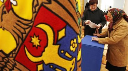 "Russia interested in ""strong"" Moldovan government"