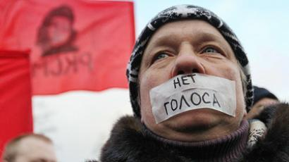 Protesters insistent: Duma poll results must be cancelled