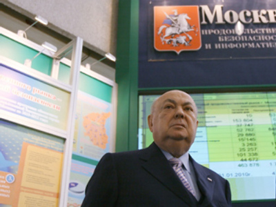 Resin becomes favorite in Moscow mayor's race