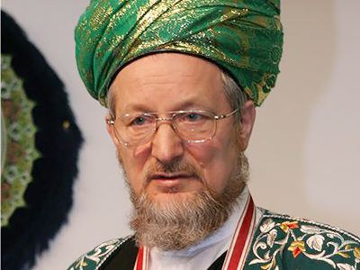 Talgat Tadjutdin, the Supreme Mufti of Spiritual Directorate of Russia's Muslims