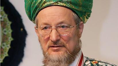 Talgat Tadjutdin, the Supreme Mufti of Spiritual Directorate of Russia's Muslims