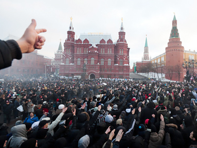 Corruption seen as real reason for Moscow nationalist riots