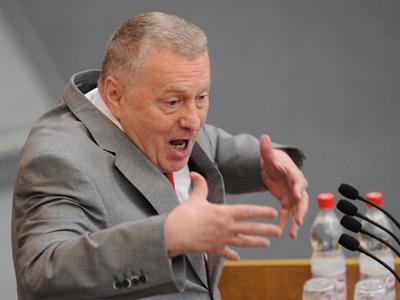 Liberal Democratic Party leader Vladimir Zhirinovsky (RIA Novosti/Vladimir Fedorenko)