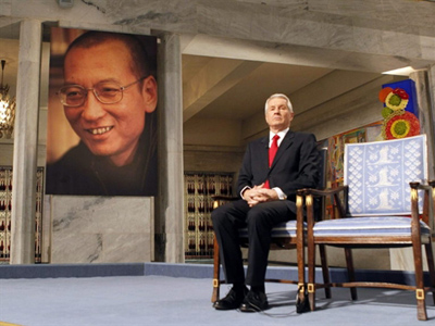 No peace as China slams 2010 Nobel winner