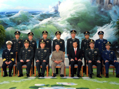 Kim Jong-il (AFP Photo / KCNA via KNS )