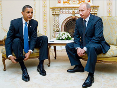 Obama and Putin - the most influential politicians in recent polls