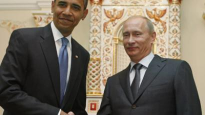 U.S. President Barack Obama and Russian President Vladimir Putin (Reuters/Jim Young)