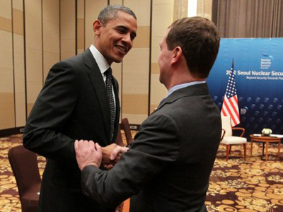 Medvedev, Obama praise 'reset', pledge further cooperation
