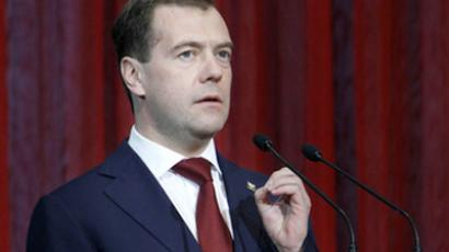 Medvedev's re-election comments rattle Russia's political markets