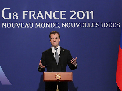 President Medvedev's news conference following the G8 Summit: full transcript