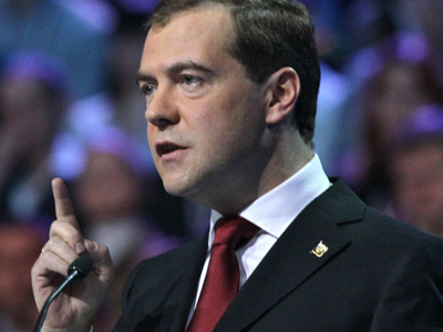 Voting for United Russia is voting for Putin as president – Medvedev