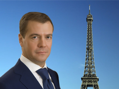 Merci! Medvedev gives candid interview to Parisian press