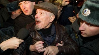 Opposition leaders detained for attempt to stage rally in Moscow