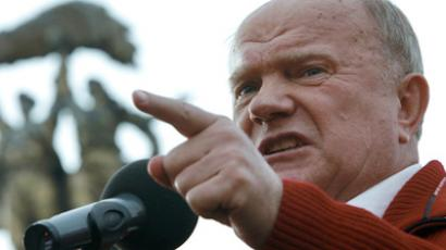 The leader of the Communist Party, Gennady Zyuganov (RIA Novosti / Andrey Stenin)