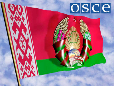 Belarus accuses OSCE of double standards
