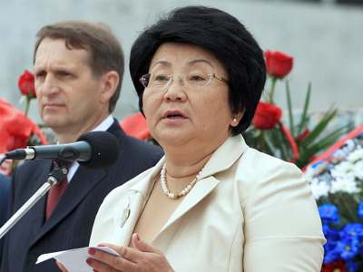 Leader of Kyrgyz revolution nominated for Nobel Peace Prize