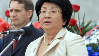 Rosa Otunbayeva (RIA Novosti/Vladislav Ushakov)