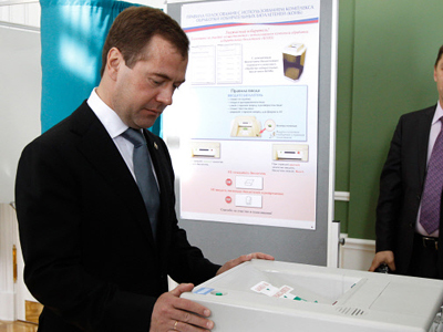 Medvedev to face questions from political party leaders