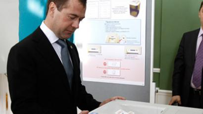Medvedev to start parliamentary elections campaign on Monday