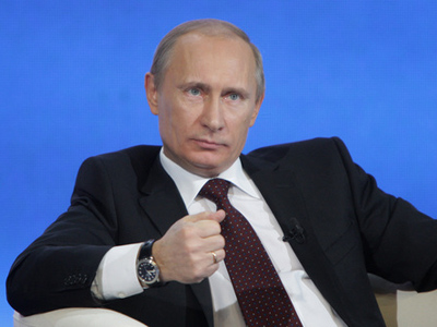 ­  Party competition of prime importance  - Putin