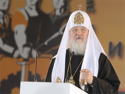 Patriarch Kirill of Moscow and All Russia  (RIA Novosti / Sergey Mamontov)