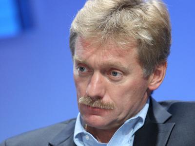 Dmitry Peskov, press secretary for Prime Minister Vladimir Putin (RIA Novosti / Sergey Mamontov)