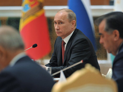 Putin pledges further support for Russia's CIS allies