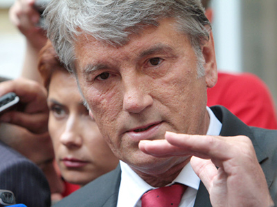 Yushchenko calls for Putin's testimony in Ukrainian gas case