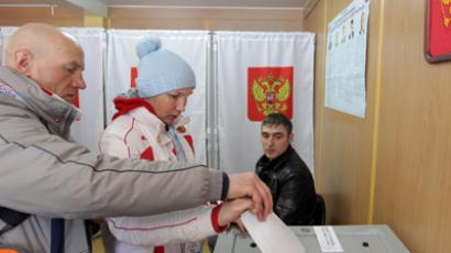 Russian presidential vote: LIVE UPDATES (PHOTOS)