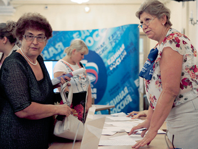 Russians not tuned in to primary politics
