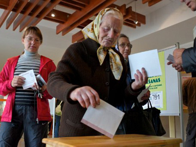 Latvia's pro-Russian party rocks the vote