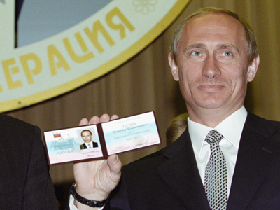 'ID please, Mr. President': Putin to get new papers