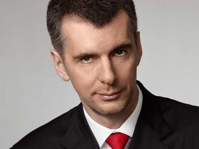 Prokhorov seeks throne, not chair