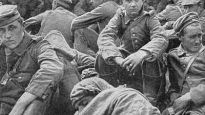 WWI soldiers, RT archive photo