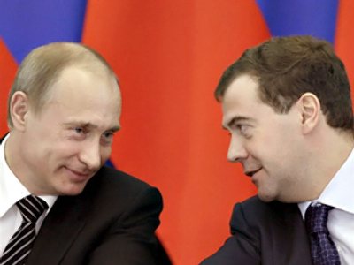 Putin and Medvedev not guilty in crisis – poll