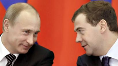 Double rising of Russian leaders