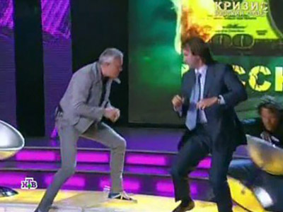 "Putin slams billionaire talk show brawlers for ""hooliganism"""