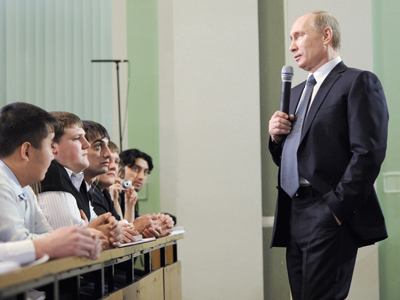 Run-off possible, but may destabilize Russia - Putin