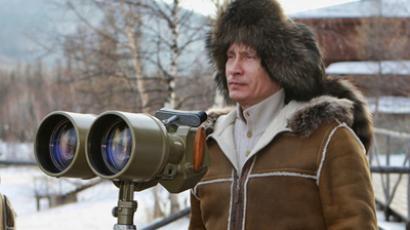 Russia's Prime Minister Vladimir Putin (RIA Novosti / Aleksey Druzhinin)