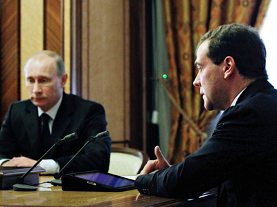 Prime Minister's press attache:  Medvedev, Putin can decide only one thing - who will run