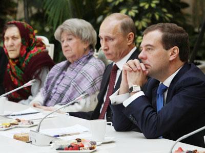 Putin & Medvedev – Anti-Populism