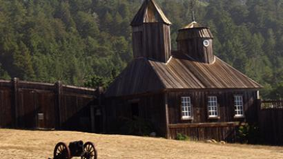Fort Ross State Historic Park, located in Sonoma Country, California, formerly a Russian settlement. (Image from flickr.com user@dolanh)