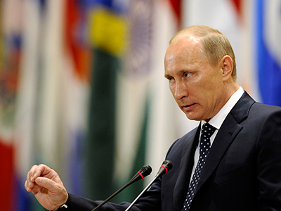 """We need a more fair and balanced economic model"" - Vladimir Putin"