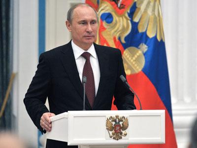 President Vladimir Putin.(RIA Novosti / Aleksey Nikolskyi)