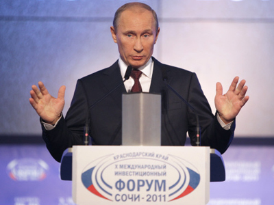 Putin warns on debt crisis in US and Europe
