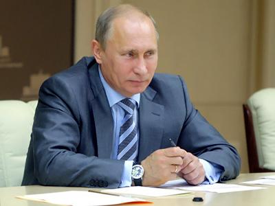 Vladimir Putin (RIA Novosti / Aleksey Druzhinin)