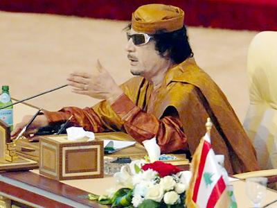 Muammar Gaddafi (AFP Photo / HO / Qatar News Agency)