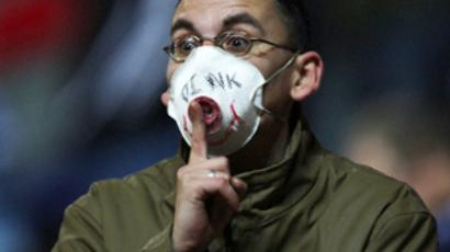 Ukraine sounds swine flu alarm